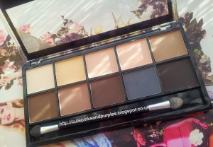 Mua matte eye shadow palette 1
